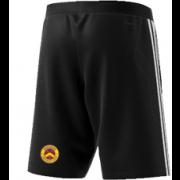 Wheldrake CC Adidas Black Training Shorts