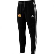 Wheldrake CC Adidas Black Training Pants