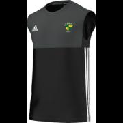 Bradfield CC Adidas Black Training Vest