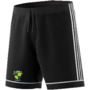 Bradfield CC Adidas Black Junior Training Shorts