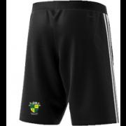 Bradfield CC Adidas Black Training Shorts