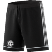 Thornton CC Adidas Black Junior Training Shorts