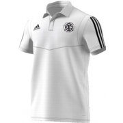 Thornton CC Adidas White Polo