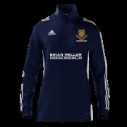 Leek CC Adidas Navy Junior Training Top
