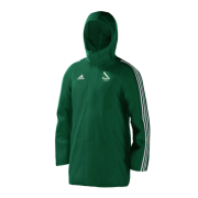 Raunds Town CC Green Adidas Stadium Jacket