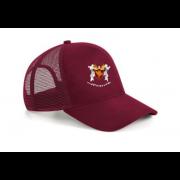 Cockfosters CC Maroon Trucker Hat