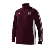 Cockfosters CC Adidas Maroon Training Top
