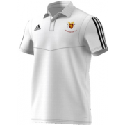 Cockfosters CC Adidas White Polo
