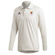 Cockfosters CC Adidas Elite Long Sleeve Shirt