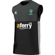 Abingdon Vale CC Adidas Black Training Vest