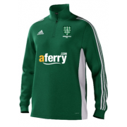 Abingdon Vale CC Adidas Green Training Top