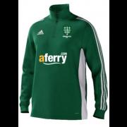 Abingdon Vale CC Adidas Green Junior Training Top