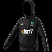 Abingdon Vale CC Adidas Black Junior Fleece Hoody