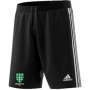 Abingdon Vale CC Adidas Black Training Shorts
