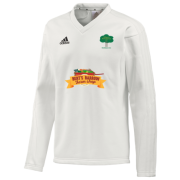 Hillam & Monk Fryston CC Adidas L/S Playing Sweater