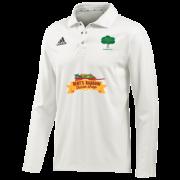 Hillam & Monk Fryston CC Adidas Elite L/S Playing Shirt