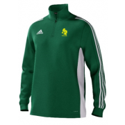 Sully Centurions CC Adidas Green Junior Training Top