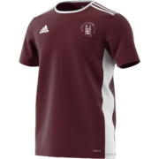 Southwell CC Adidas Maroon Junior Training Jersey