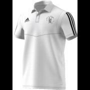 Southwell CC Adidas White Polo