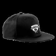 London Cricket Academy Black Snapback Hat