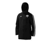 London Cricket Academy Black Adidas Stadium Jacket