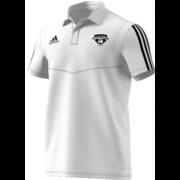 London Cricket Academy Adidas White Polo