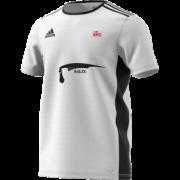 Kent Girls Cricket Academy Adidas White Training Jersey