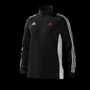 Kent Girls Cricket Academy Adidas Black Training Top
