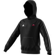 Kent Girls Cricket Academy Adidas Black Junior Fleece Hoody