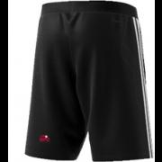 Kent Girls Cricket Academy Adidas Black Training Shorts