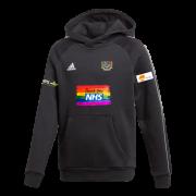 Gravesend CC Adidas Black Junior Fleece Hoody