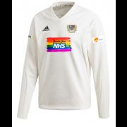 Gravesend CC Adidas Elite Long Sleeve Sweater
