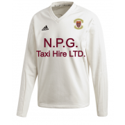 Eastwood Town CC Adidas Elite Long Sleeve Sweater