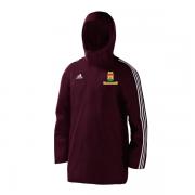 Vinohrady CC Maroon Adidas Stadium Jacket