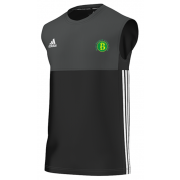 West Bergholt CC Adidas Black Training Vest