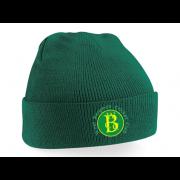 West Bergholt CC Green Beanie