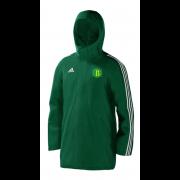 West Bergholt CC Green Adidas Stadium Jacket