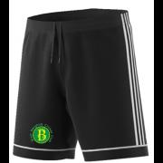West Bergholt CC Adidas Black Training Shorts