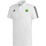 West Bergholt CC Adidas White Polo