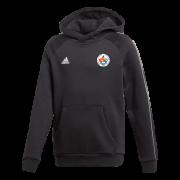 Earls Colne CC Adidas Black Junior Fleece Hoody
