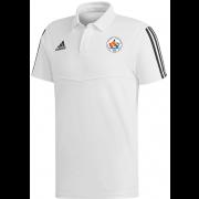 Earls Colne CC Adidas White Polo