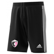 Rosaneri CC Adidas Black Junior Training Shorts