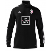 Rosaneri CC Adidas Black Zip Training Top (with sponsor)