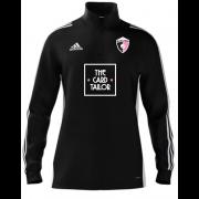 Rosaneri CC Adidas Black Zip Junior Training Top (with sponsor)