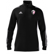 Rosaneri CC Adidas Black Zip Junior Training Top