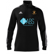Ramsey CC Adidas Black Zip Training Top (new)