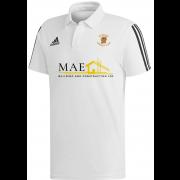 Ramsey CC Adidas White Polo (new sponsor)