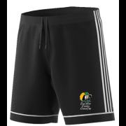 East Herts Cavaliers CC Adidas Black Training Shorts