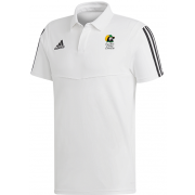 East Herts Cavaliers CC Adidas White Polo