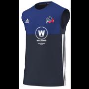 Tamworth CC Adidas Navy Training Vest